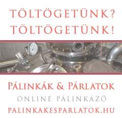 Pálinkák és párlatok online pálinkázó